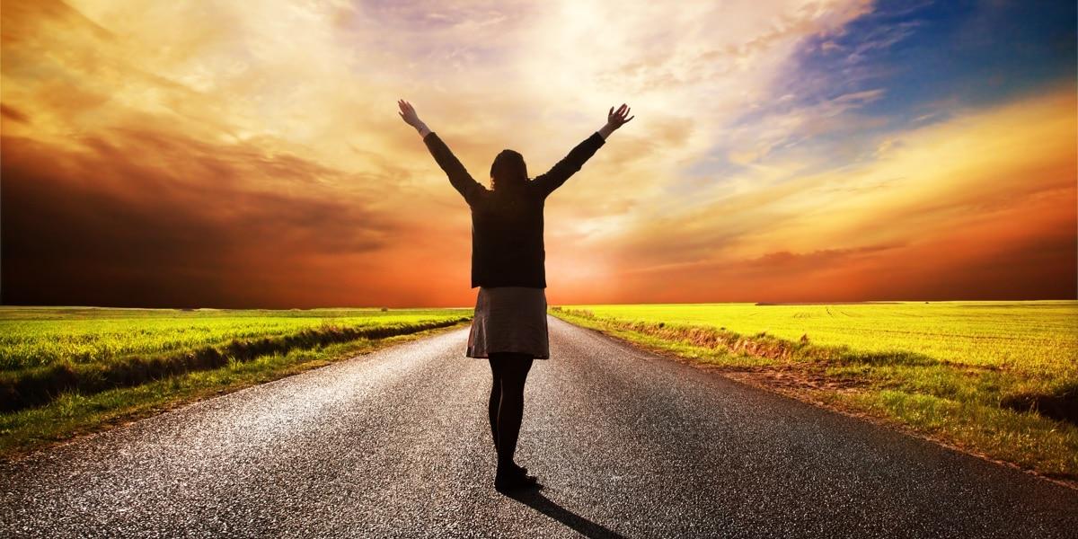 pad naar vrijheid