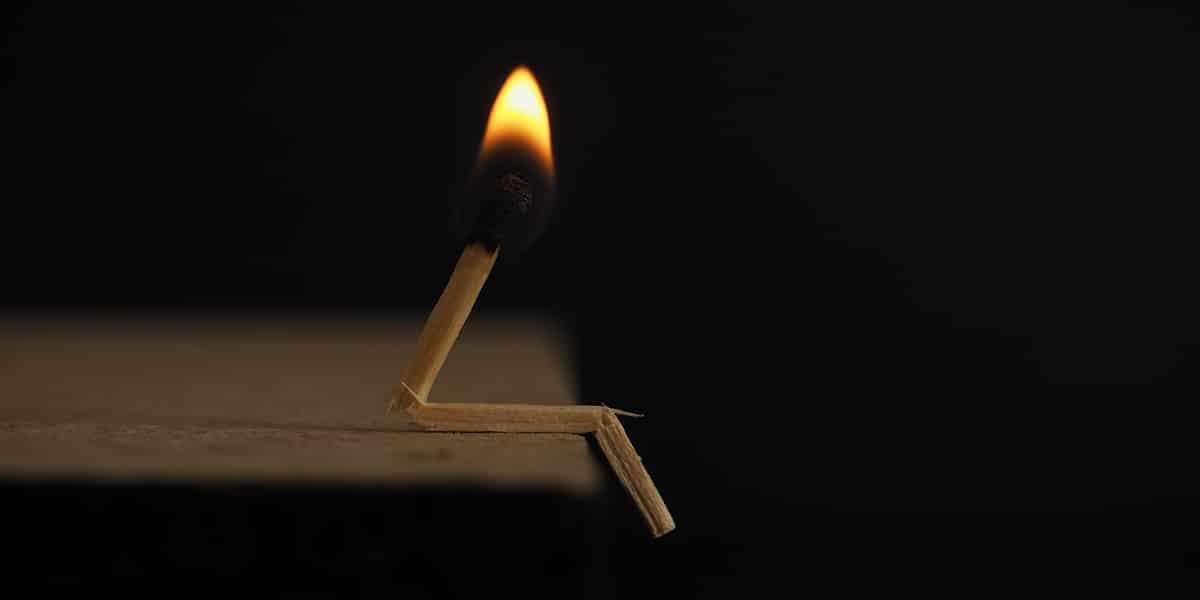 opgebrand, burnout
